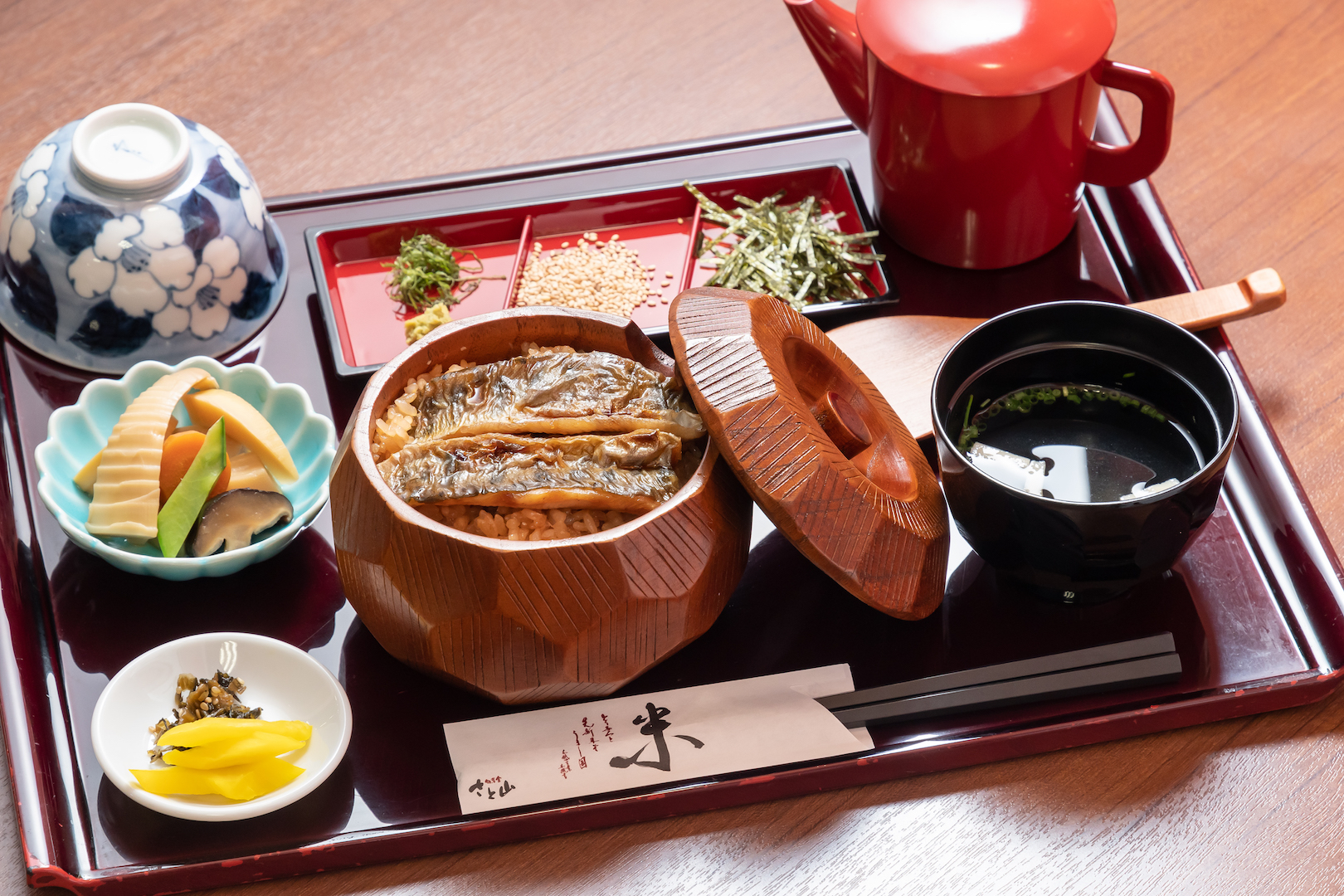 三瀬村で唯一さと山だけが提供している「ヤマメ料理」
